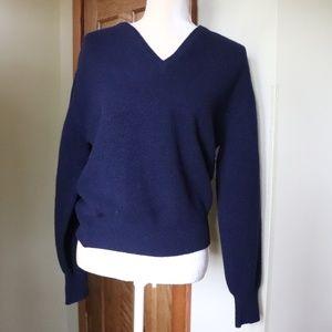 MAISON DE BONNETERIE SWEATSHIRT SIZE: M 100% wool